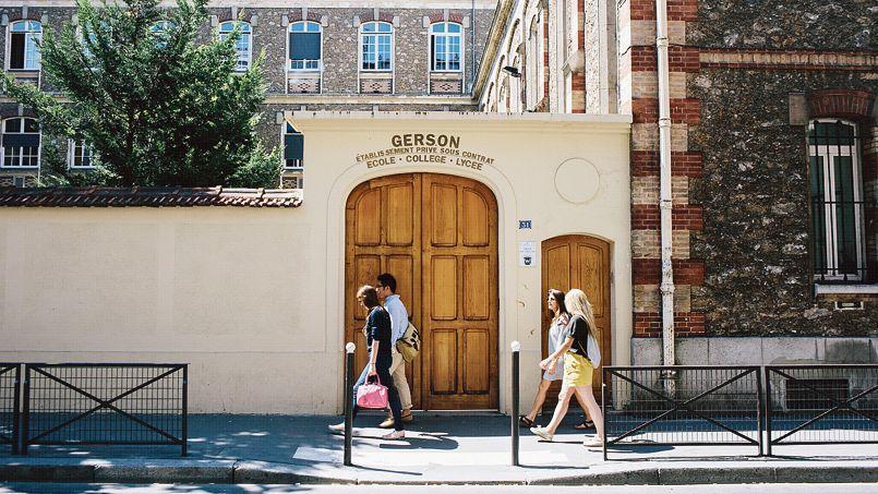 Le lycée catholique Gerson, dans le XVIe arrondissement de Paris.