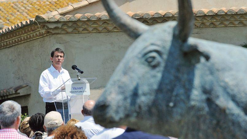 Dans son discours à Vauvert dans le Gard le 6 juillet, Manuel Valls s'est engagé à «garantir le budget de la culture pour les trois années à venir».