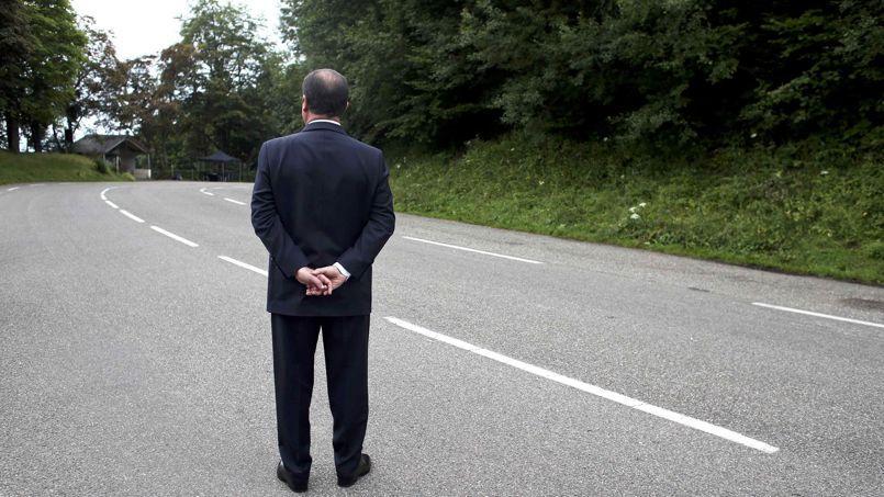François Hollande, dimanche, à Wattwiller.