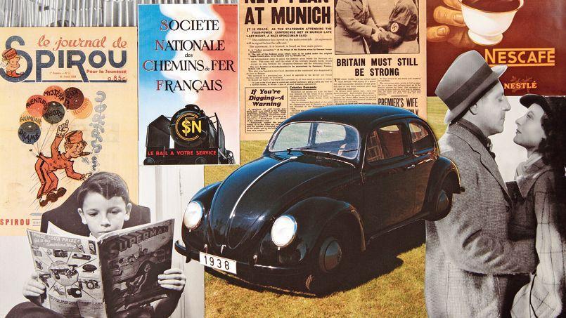 1938, la Volkswagen Coccinelle : une machine politique