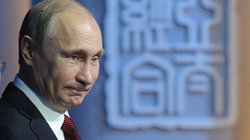 Le président russe, Vladimir Poutine, lundi, à Pékin.