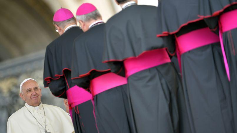 Audience générale au Vatican. 266epape, François reste l'Argentin Jorge Mario Bergoglio.