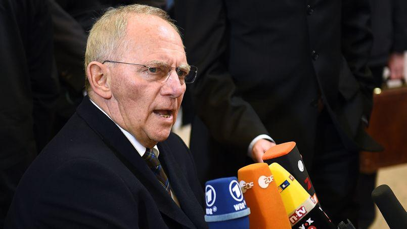 Wolfgang Schäuble, ministre allemand des Finances: «Si vous détruisez la confiance mutuelle, vous détruisez l'Europe.»