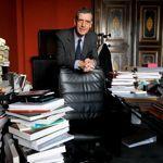 Henri Loyrette dans son bureau du Louvre, qu'il quittera le mois prochain.