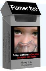 Proposition de paquet «neutre» de cigarettes par des associations de lutte contre le tabagisme