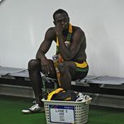 Bolt frappé par la foudre