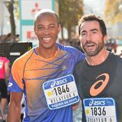 Des célébrités ont pris part aussi à la course, comme Stéphane Diagana et Luc Alphand