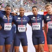 Relais 4x100 m masculin (bronze)