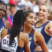 Relais 4x400 m féminin (or)