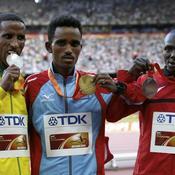 Yemane Tsegay, Ghirmay Ghebreslassie et Munyo Solomon Mutai