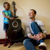 Oscar Pistorius enfant