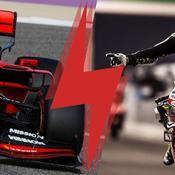 Formule 1 vs MotoGP : une compétition hors-piste, aussi