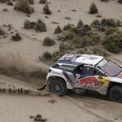 Coup double de Loeb qui reprend la tête du Dakar