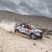 Dakar 2019 : Al-Attiyah conforte son avance au classement général, Loeb craque