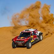 Dakar : à deux étapes de l'arrivée, Carlos Sainz conforte son avance