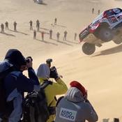 Dakar: Les spectaculaires tonneaux de Fernando Alonso