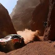 Triplé de Peugeot, Peterhansel revient dans le coup