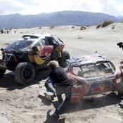 Accident de Sébastien Loeb