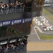 Le Mans départ