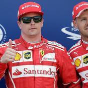 9 ans après, Raikkönen renoue avec la pole position
