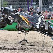 Alonso victime d'un terrible crash