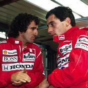 Ayrton Senna avec Alain Prost