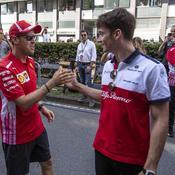 Charles Leclerc, un rival ou un allié pour Sebastian Vettel ?