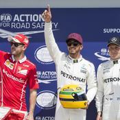 En pole au Canada, Hamilton égale Senna