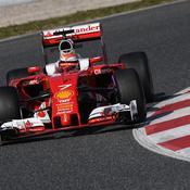 Ferrari a brillé à Barcelone, Mercedes a bossé
