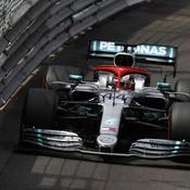 Hamilton s'impose à Monaco, mais pas de doublé Mercedes