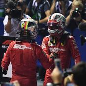 Grand Prix de Singapour : Vettel et Leclerc confirment le renouveau de Ferrari