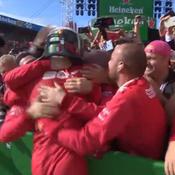 Formule 1 : Leclerc, folie rouge à Monza