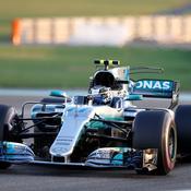 GP Abou Dhabi : Bottas en pole position devant Hamilton