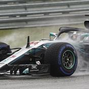 Hamilton danse (déjà) sous la pluie à Austin, bien aidé par Vettel
