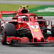 Italie : Kimi Räikkönen surprend Sebastian Vettel