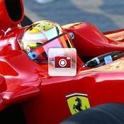 Jules Bianchi Ferarri F1