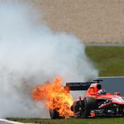 Bianchi en feu