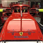 La Scuderia Ferrari rend hommage aux victimes du pont de Gênes