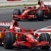 Kimi Räikkönen, Felipe Massa, Ferrari