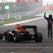 Sébastian Vettel a décroché en Inde une sixième victoire de suite en championnat
