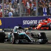 Formule 1 : Hamilton rayonnant à Singapour