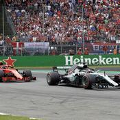 Italie : Hamilton plus fort que Ferrari sur ses terres