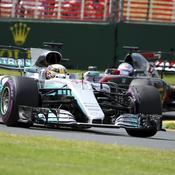 Lewis Hamilton marque déjà son territoire
