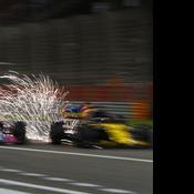 Pourquoi les Formule 1 produisent autant d'étincelles sur la piste