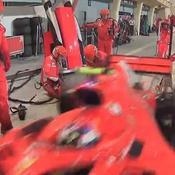 Räikkönen blesse un mécanicien en sortant des stands et abandonne