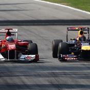 Ferrari et Red Bull