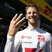 Romain Grosjean retrouve (enfin) le sourire