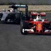 Vettel le plus rapide à Barcelone, Hamilton le plus assidu