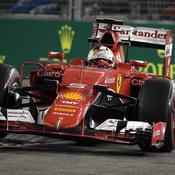 Vettel met fin à la domination de Mercedes et Hamilton