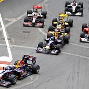 Départ GP Monaco